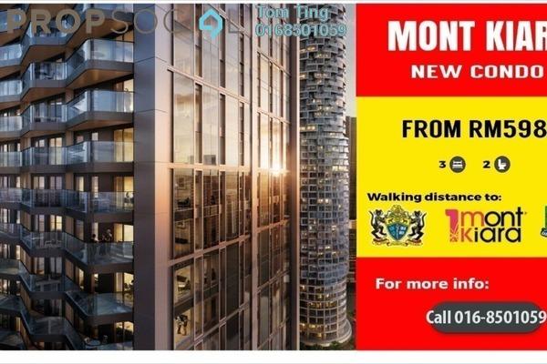 Condominium For Sale in Lanai Kiara, Mont Kiara Freehold Unfurnished 3R/2B 598k