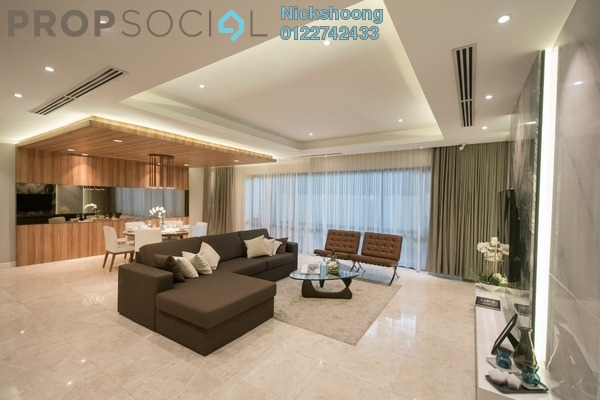 Condominium For Sale in D'Rapport Residences, Ampang Hilir Freehold Semi Furnished 2R/2B 1.4m