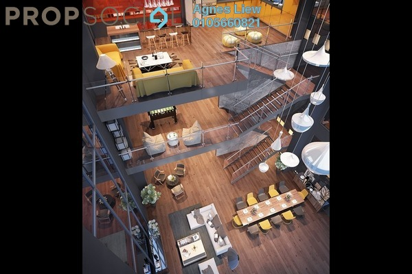 Condominium For Sale in Bennington Residences, Setapak Freehold Semi Furnished 4R/2B 605k