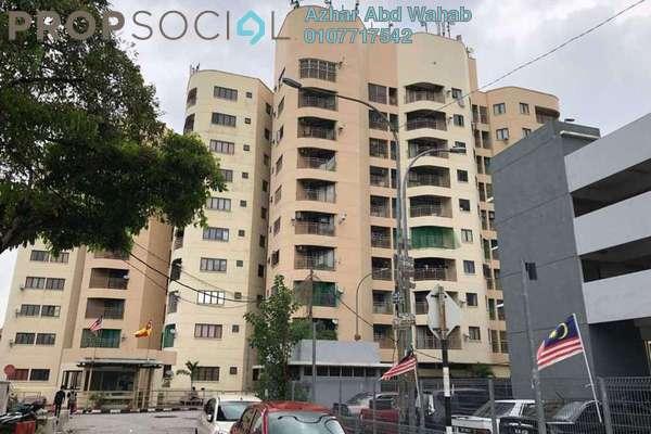 Condominium For Sale in Indah Villa, Bandar Sunway Freehold Semi Furnished 3R/2B 425k