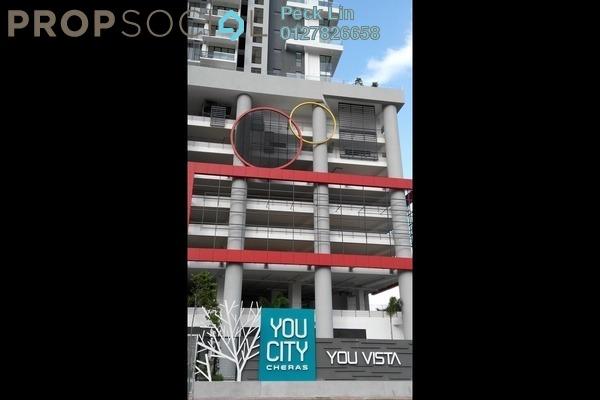 Condominium For Sale in You Vista @ You City, Batu 9 Cheras Leasehold Unfurnished 1R/1B 325k