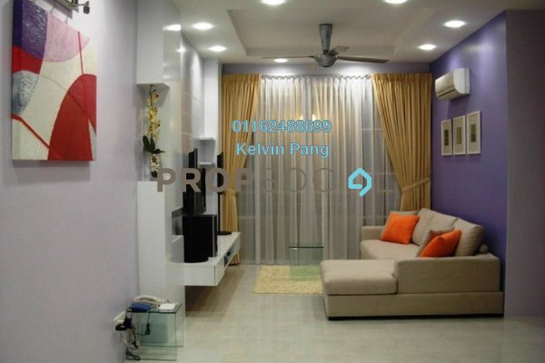 Condominium For Sale in BaysWater, Gelugor Freehold Fully Furnished 3R/2B 849k