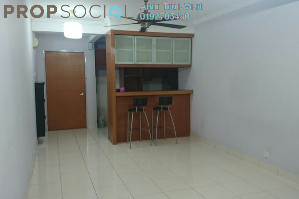 Condominium For Rent in Putra Villa, Gombak Freehold Semi Furnished 3R/2B 1.6k