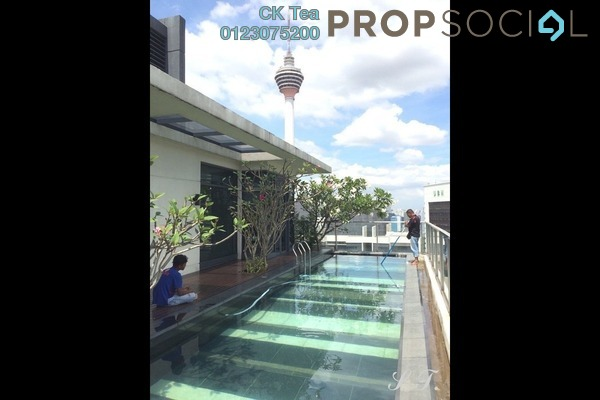 Condominium For Rent in St Mary Residences, KLCC Freehold Semi Furnished 4R/4B 35k