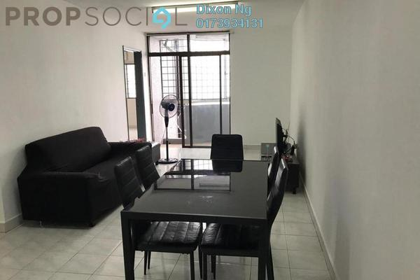 Condominium For Rent in Kenanga Point, Pudu Freehold Fully Furnished 3R/2B 1.8k