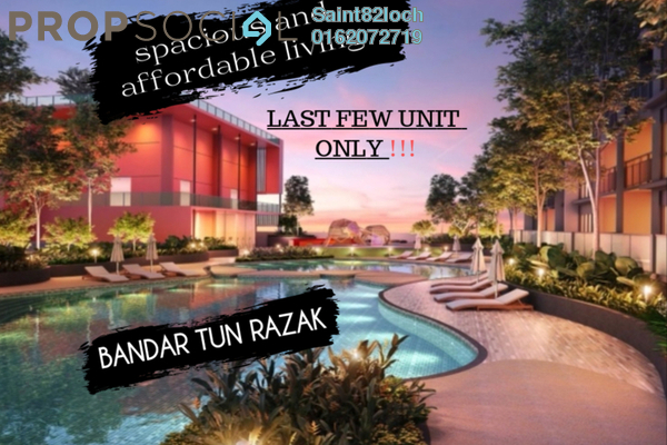Condominium For Sale in Pertama Residency, Cheras Leasehold Unfurnished 3R/2B 435k