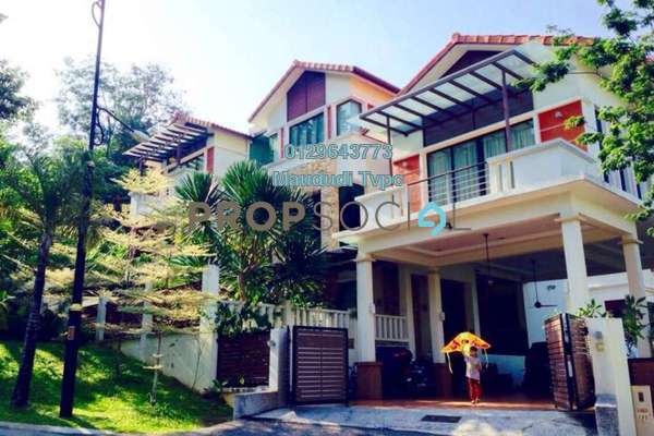Bungalow For Sale in RiverView, Melawati Freehold Semi Furnished 9R/9B 4.88m