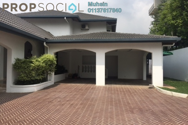 Bungalow For Sale in Villa U-Thant, Ampang Hilir Freehold Semi Furnished 7R/7B 20m