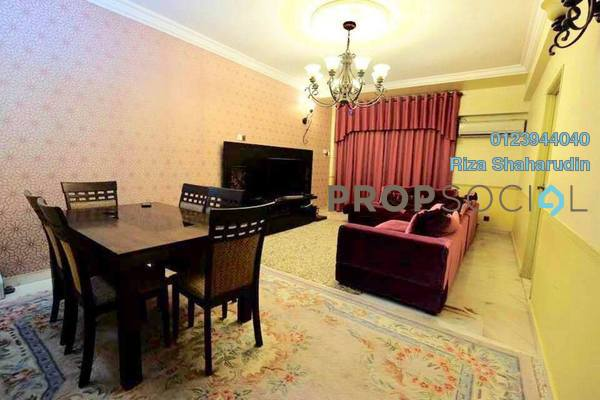 Condominium For Sale in Setapak Ria Condominium, Setapak Freehold Fully Furnished 3R/2B 380k