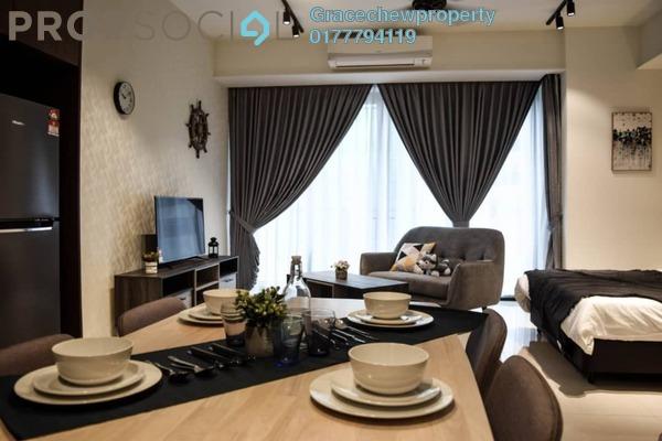 Condominium For Rent in Grand Medini, Medini Iskandar Malaysia Freehold Fully Furnished 0R/1B 1.3k