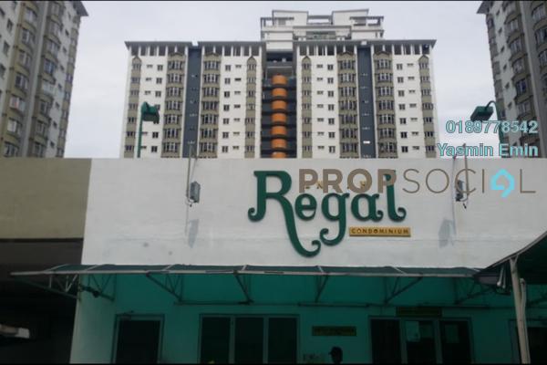 Condominium For Sale in Endah Regal, Sri Petaling Leasehold Semi Furnished 3R/2B 370k