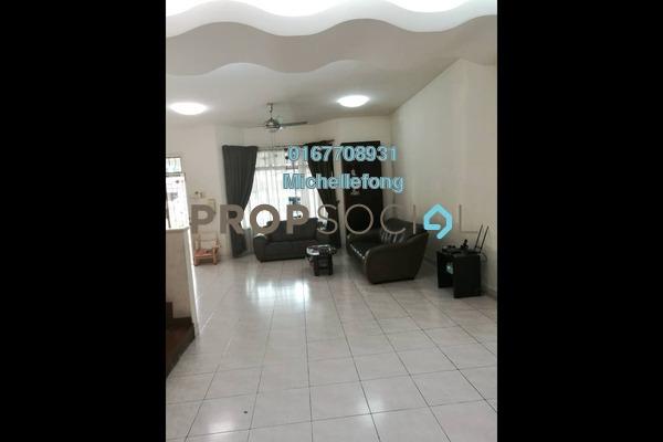 Terrace For Sale in Taman Sutera Utama, Skudai Freehold Semi Furnished 4R/3B 868k
