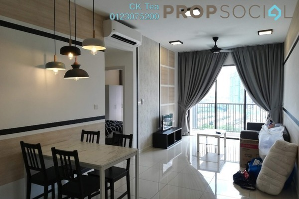 Condominium For Rent in Casa Green, Bukit Jalil Freehold Semi Furnished 3R/3B 2.1k