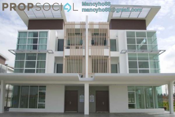 Semi-Detached For Rent in Garden Residence, Cyberjaya Freehold Semi Furnished 6R/5B 3.5k