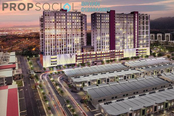 For Sale Apartment at Mahkota Valley, Bandar Indera Mahkota Freehold Fully Furnished 2R/1B 259k