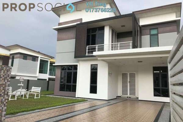 For Sale Bungalow at Vista Kirana, Ayer Keroh Freehold Fully Furnished 5R/5B 1.3m