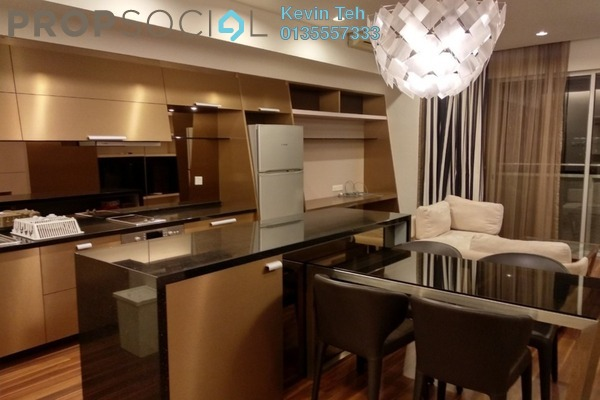 For Rent Condominium at VERVE Suites, Mont Kiara Freehold Fully Furnished 2R/2B 3.7k