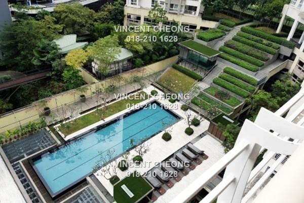 Condominium For Sale in Hijauan Kiara, Mont Kiara Freehold Semi Furnished 3R/3B 1.39m