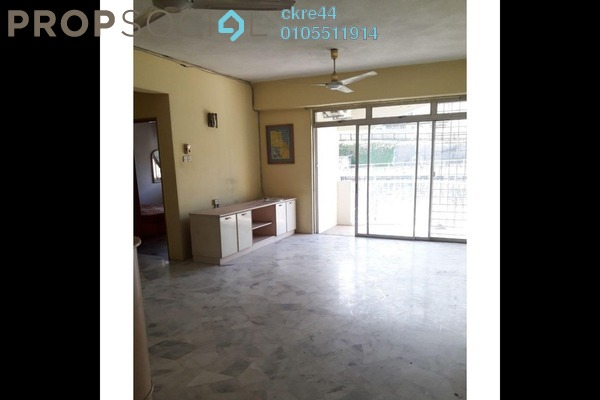 Condominium For Sale in Intan Apartment, Setiawangsa Freehold Fully Furnished 3R/2B 329k