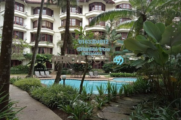 Condominium For Sale in Seri Duta II, Kenny Hills Freehold Semi Furnished 3R/3B 1.7m