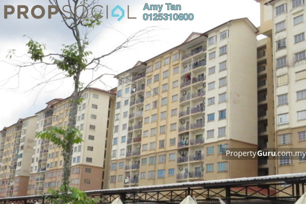 Apartment For Sale in Impian Senibong, Bandar Baru Permas Jaya Freehold Unfurnished 0R/0B 340k
