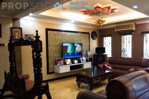 Terrace For Sale in Taman Wahyu, Jalan Ipoh Freehold Semi Furnished 5R/3B 1.3m