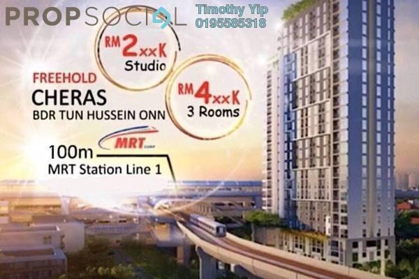 Condominium For Sale in The Netizen, Bandar Tun Hussein Onn Freehold Unfurnished 3R/2B 270k