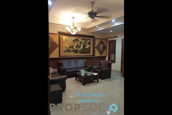 Terrace For Sale in Taman Megah, Kepong Freehold Semi Furnished 5R/5B 1.15m
