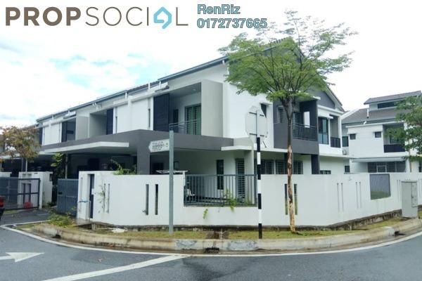 Terrace For Rent in Delfina, Nilai Impian Freehold Semi Furnished 5R/5B 1.75k