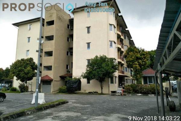For Sale Apartment at Perdana Residence 1, Selayang Leasehold Unfurnished 0R/0B 144k