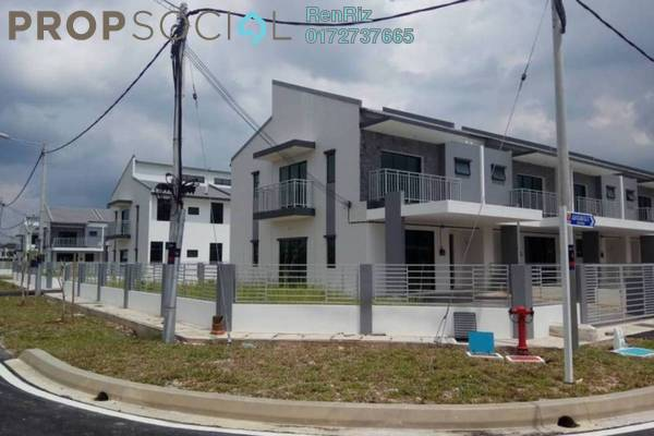 Terrace For Rent in Saujana KLIA, Sepang Freehold Unfurnished 4R/3B 1.95k