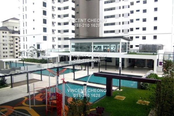 Condominium For Sale in Papillon Desahill, Taman Desa Freehold Semi Furnished 3R/4B 1.17m