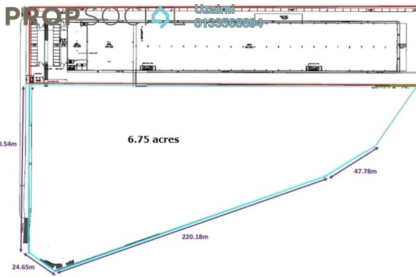 Land For Sale in Section 15, Shah Alam Leasehold unfurnished 0R/0B 85m