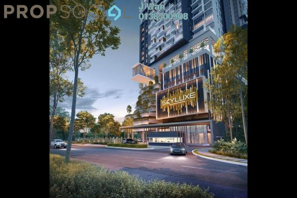 Serviced Residence For Sale in SkyLuxe On The Park, Bukit Jalil Freehold Semi Furnished 1R/1B 626k