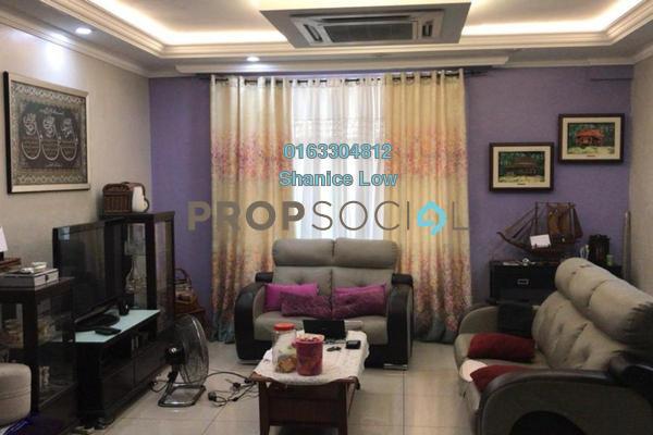 Terrace For Sale in PU1, Bandar Puchong Utama Freehold Semi Furnished 4R/3B 910k