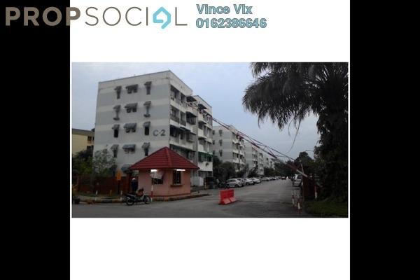 For Rent Apartment at Baiduri Apartment, Desa Pandan Freehold Semi Furnished 3R/2B 1.45k