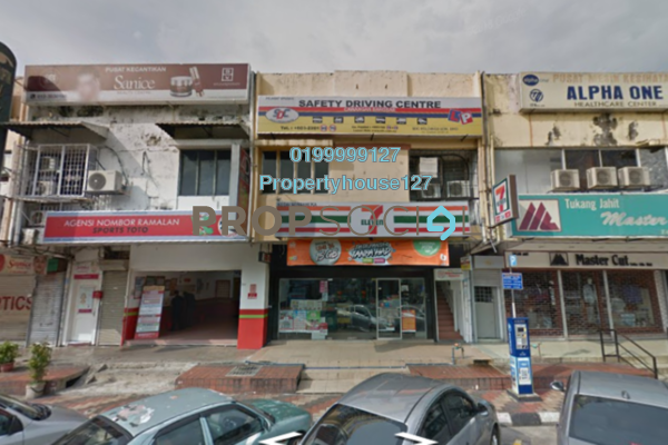 Shop For Rent in Lucky Garden, Bangsar Freehold Unfurnished 0R/0B 2.5k