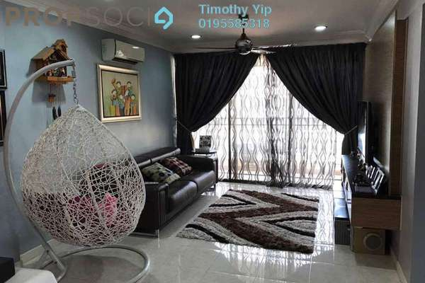 Condominium For Sale in Casa Tropicana, Tropicana Freehold Fully Furnished 3R/3B 630k