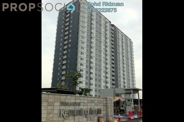 Apartment For Rent in Kemuning Aman, Kota Kemuning Freehold Semi Furnished 3R/2B 1k