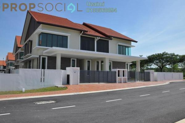 Semi-Detached For Sale in Lukisan, Alam Impian Freehold semi_furnished 4R/4B 1.55m