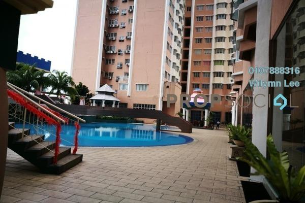 Condominium For Rent in The 19 USJ City Mall, UEP Subang Jaya Freehold Semi Furnished 3R/2B 1.29k