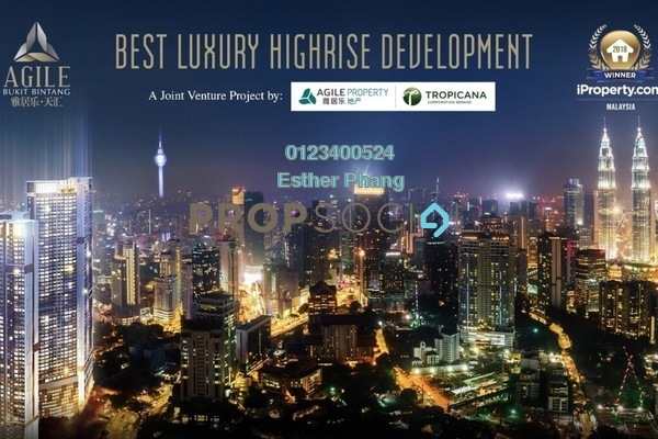 Serviced Residence For Sale in Agile, Bukit Bintang Freehold Semi Furnished 1R/1B 1.15m