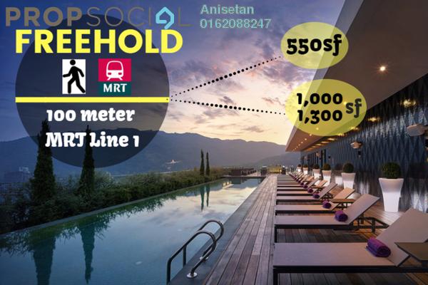Condominium For Sale in The Netizen, Bandar Tun Hussein Onn Freehold Unfurnished 3R/2B 435k