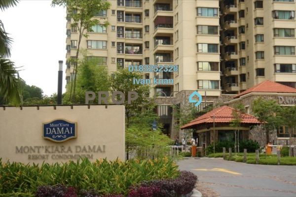 Condominium For Sale in Mont Kiara Damai, Mont Kiara Freehold Fully Furnished 4R/4B 2.15m