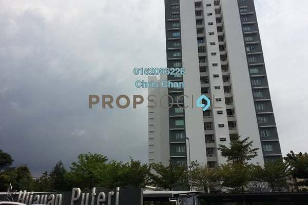 Condominium For Rent in Hijauan Puteri, Bandar Puteri Puchong Freehold Semi Furnished 3R/2B 1.45k