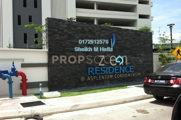 For Sale Condominium at Zen Residence, Puchong Leasehold Unfurnished 4R/2B 580k