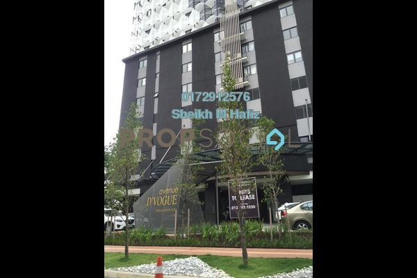 SoHo/Studio For Sale in Avenue D'Vogue, Petaling Jaya Freehold Fully Furnished 1R/1B 425k