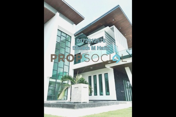 Villa For Sale in Section 8, Shah Alam Freehold Semi Furnished 7R/8B 3.8m