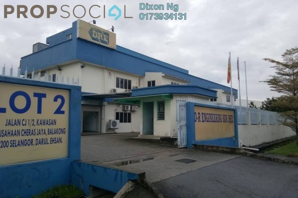 Factory For Sale in Cheras Jaya Industrial Park, Balakong Freehold Fully Furnished 1R/1B 12m