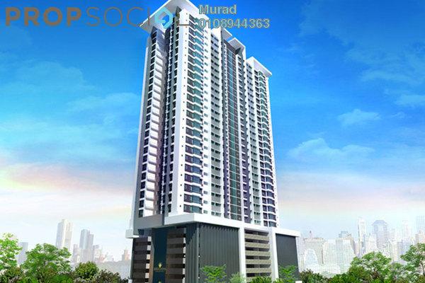Condominium For Sale in Berlian Residence @ Setapak, Kuala Lumpur Freehold Unfurnished 3R/2B 450k